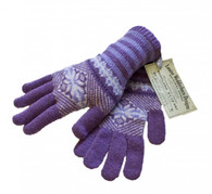 Ladies Lambswool Fairisle Gloves (5 colours to choose from)