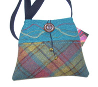 Harris Tweed Handbag (Turquoise)