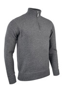 Gents Lambswool Zip-Neck Sweater (8 colours)