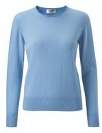 Ladies Cashmere Crew Neck Sweater (9 colours)