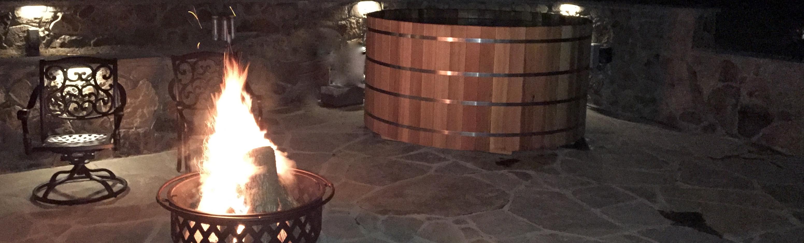 Cedar Hot Tub   Japanese Soaking Tubs   Free Standing Bathtubs ...