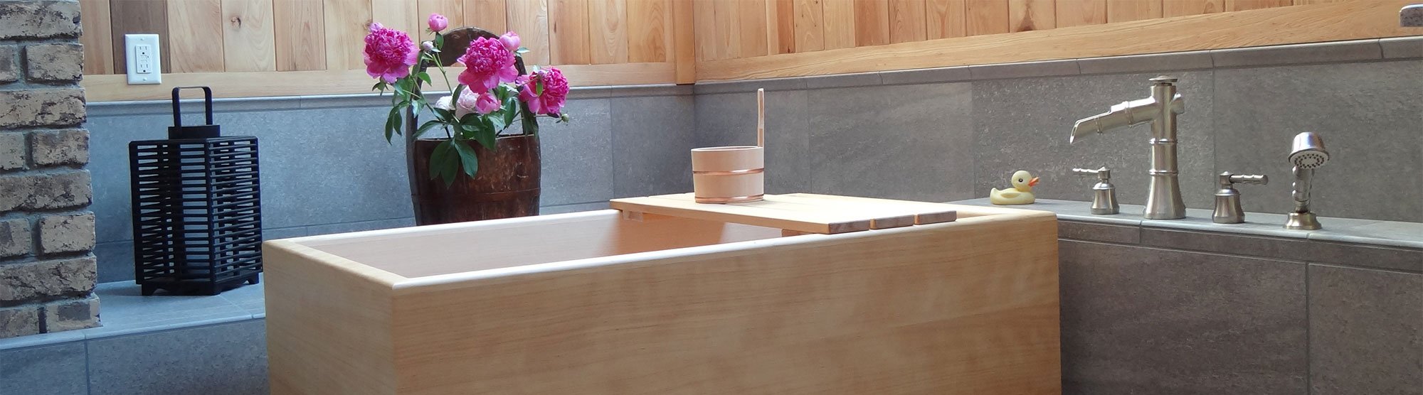 East Meets West: The Japanese Ofuro Tub