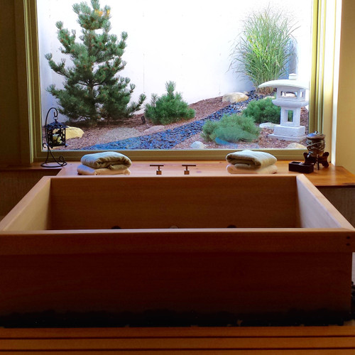custom sized ofuro soaking tub zen bathworks