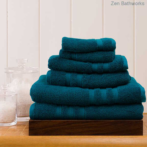 Peacock Bamboo Towel Set