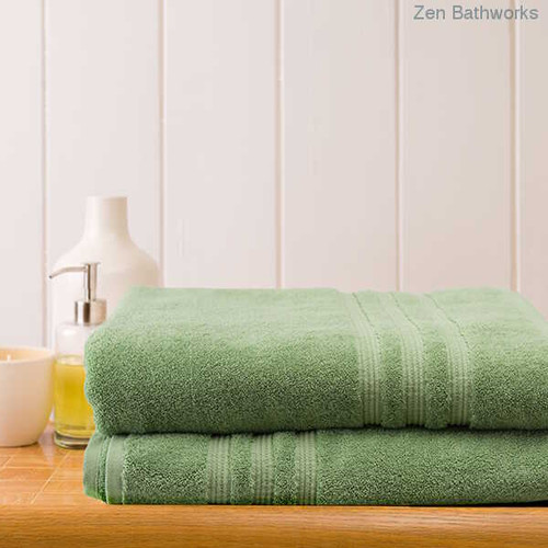 Bamboo Bath Sheets - Aloe