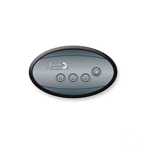 Gecko IN.K120-3OP Auxiliary Topside Control with Overlay