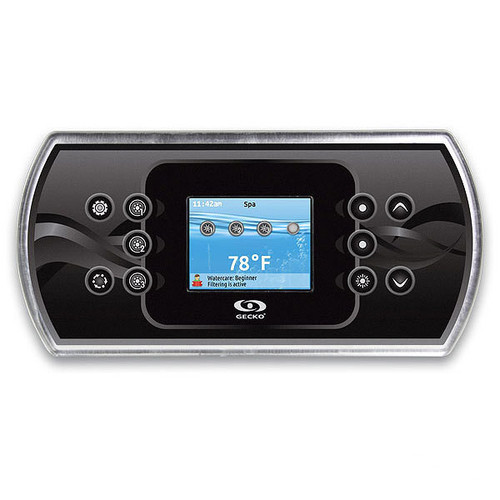 Gecko IN.K800-CLEAR Topside Control with Overlay