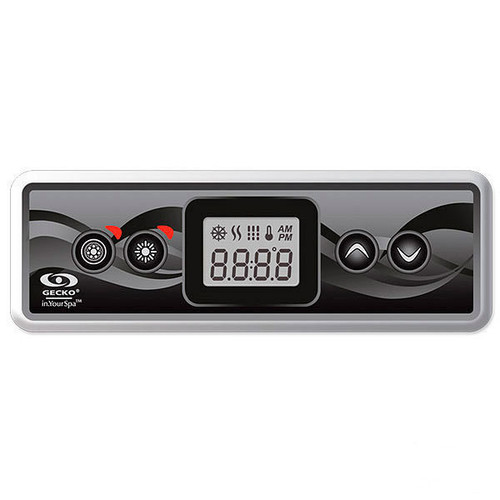 Gecko IN.K300-1OP Topside Control with Overlay