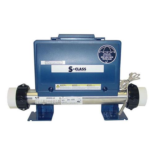 Gecko S Class spa control pack, 4kw heater, 2 pumps + circ pump, blower, AMP plugs