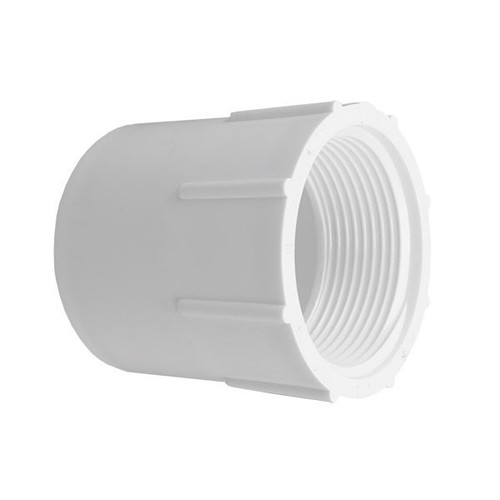 "PVC Female Adapter - 1-1/2"" Slip x 1-1/2"" FPT"