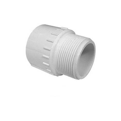 "PVC Male Adapter - 1/2"" Slip x 1/2"" MPT"