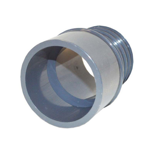 "PVC Insert Fitting Adapter - 2""SP x 2"" Barb"