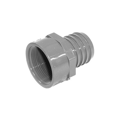 "PVC Insert Fitting Female Adapter - 1-1/2"" Barb x 1-1/2"" FPT"