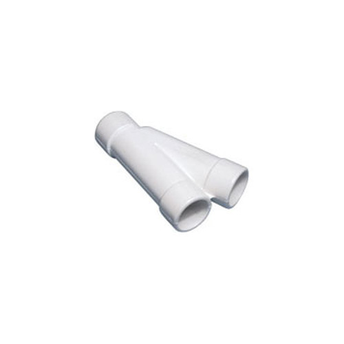 Waterway PVC 22 ½° Wye – 1″ S x 1″ S x 1″ S