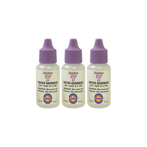 Value Pack - 3x Water Hardness Test Reagent #7 (1/2oz.)