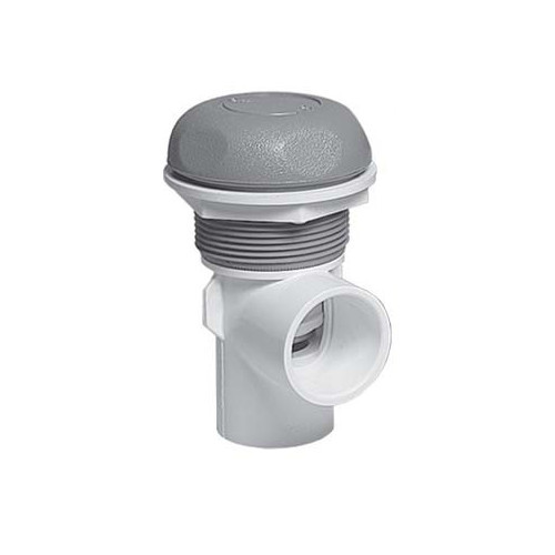 """600-4367 Waterway Valve - 1"""" On/Off (Complete Assembly - Grey)"""
