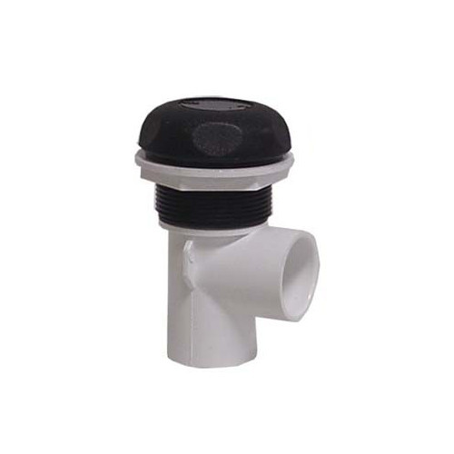 """600-4361 Waterway Valve - 1"""" On/Off (Complete Assembly - Black)"""