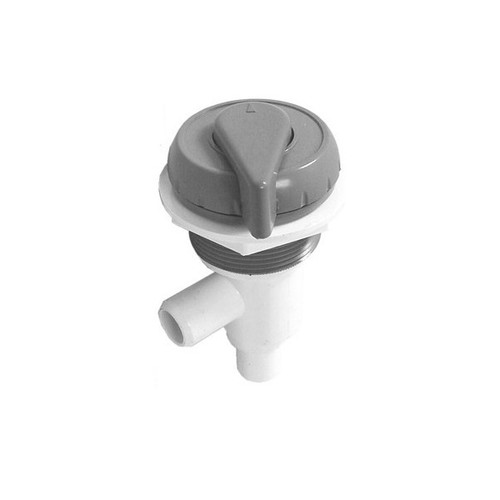"""600-4757 Waterway On/Off Valve - 3/4"""" Shur Grip (Complete Assembly - Grey)"""