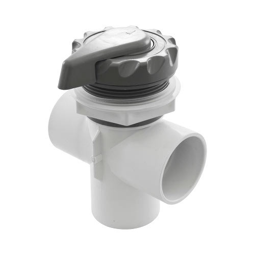 """600-3057 Waterway Diverter Valve - 2"""" (Complete Assembly - Grey)"""