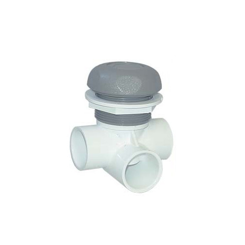 """600-4387 Waterway Valve - 1"""" On/Off (Complete Assembly - Grey)"""