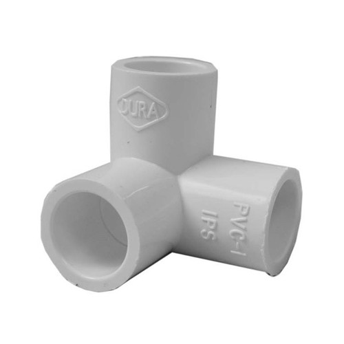 """PVC Elbow - 1/2"""" Side Outlet, 90 Degree"""