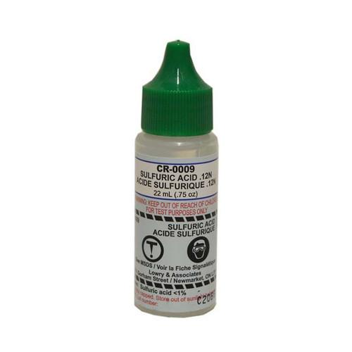 Taylor Test Reagent R-0009-A Sulfuric Acid - 0.75oz