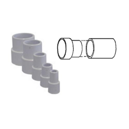 "White PVC Pipe Extender for 3/4"" Pipe"