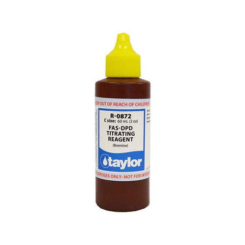 Taylor  R-0872-C FAS-DPD Titrating Reagent (Bromine) 60ml