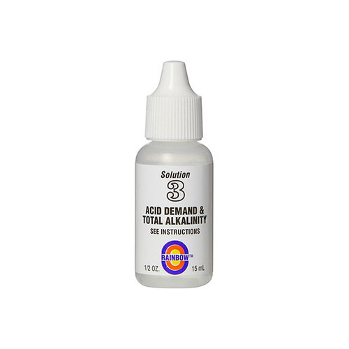 Pentair No.3 Acid Demand And Total Alkalinity Reagent 1/2 OZ