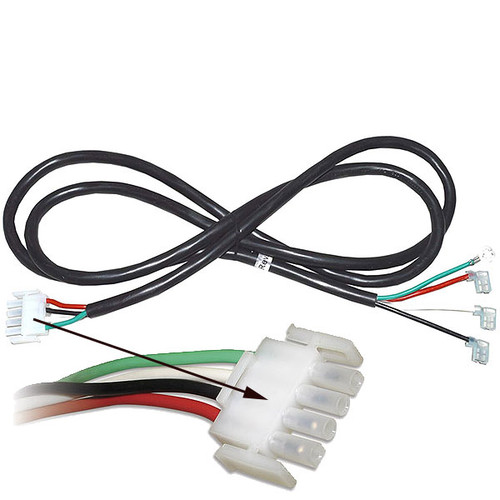 6' Cord for 2 speed 240v Pumps with AMP plug.