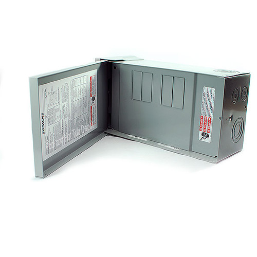 125 Amp Siemens Sub Panel only, for single pole or double pole breakers