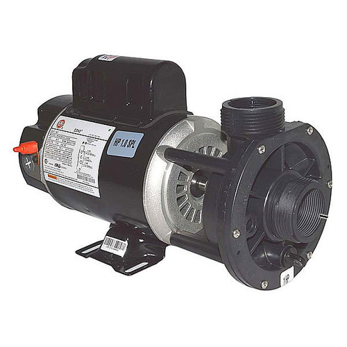 "Waterway 1.5HP 2 Speed 48 Frame 120 Volt Pump 1.5"" in-out, center discharge"