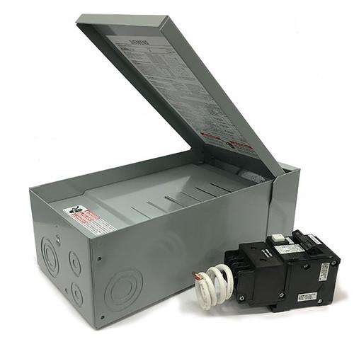 Siemens 60 Amp GFCI Hot Tub/Pool/Spa Pack