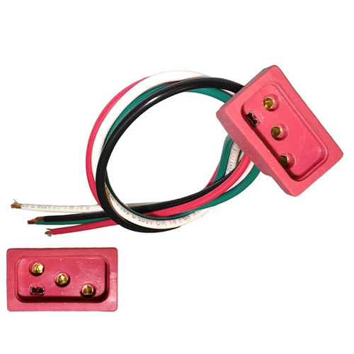 2 Speed, 240 Volt Mini J&J Pump receptacle (RED)