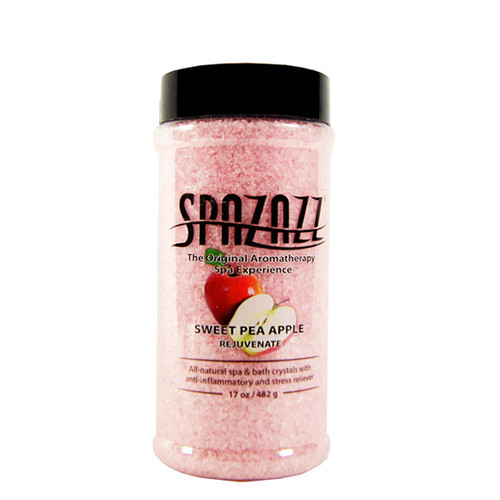 Sweet Pea Apple Spazazz Aromatherapy Crystals For Your Hot Tub