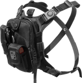 Hazard 4 Covert Escape RG Flashlight Cycling Camera Chest Pack Black