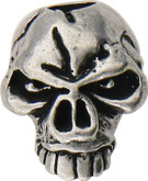 Schmuckatelli Emerson Skull Bead Pewter