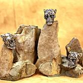Schmuckatelli Aquilo Sugar Skull Bead Pewter