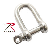 "Rothco 5/32"" Straight D Shackle with Screw Pin"