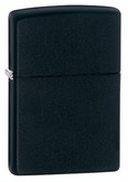 A full view image of the Zippo Black Matte Lighter.