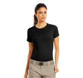 Under Armour Women's UA Tactical Heatgear T-Shirt (1235249) A slimmer athletic cut that delivers better mobility by eliminating the bulk of extra fabric.