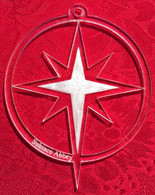 Acrylic Ornament: Star of Bethlehem