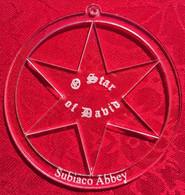 Acrylic Ornament: Star of David