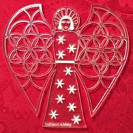 Acrylic Ornament: Abbey Angel