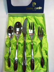 Pierre Cardin Flatware 5pc Silver