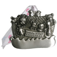 Pewter Baby's First Noah's Ark