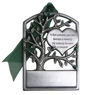Pewter Memorial Tree
