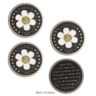 Daisy Kindness Tokens, Set of 3