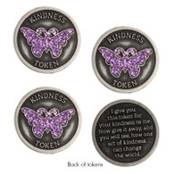 Butterfly Kindness Tokens, Set of 3