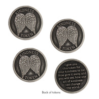 Angel Wing Tokens, Set of 3
